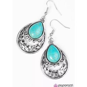 Take Me to the River Blue/Turquoise Earrings